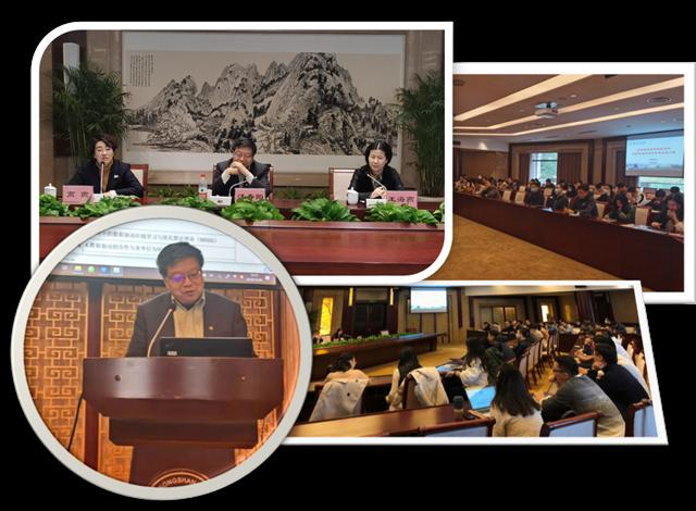 中国科学院大学经济与管理学院院长穿帮、著名管理学家汪寿阳到访我校